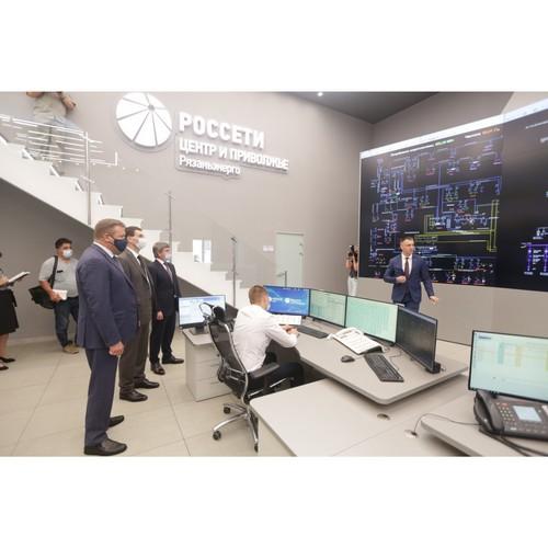 Игорь Щеголев посетил ЦУС «Россети Центр» в Рязани