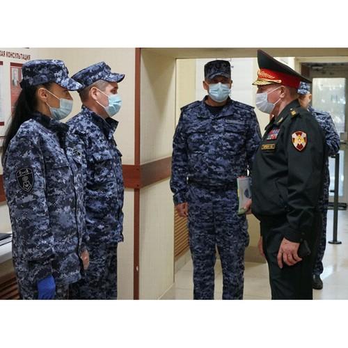 Командующий Приволжским округом Росгвардии посетил Ульяновскую область