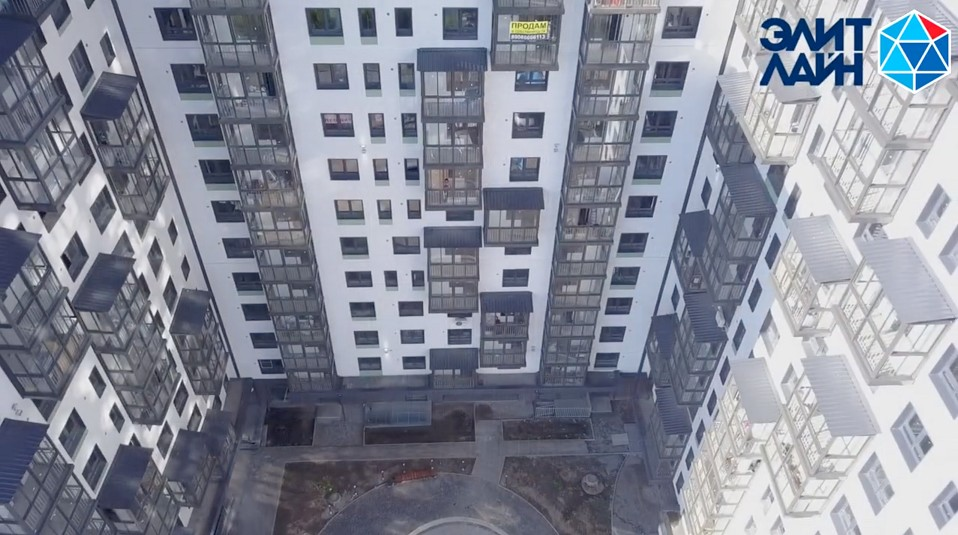 ЖК «Скандинавия» в Иркутске остеклили окнами Deceuninck