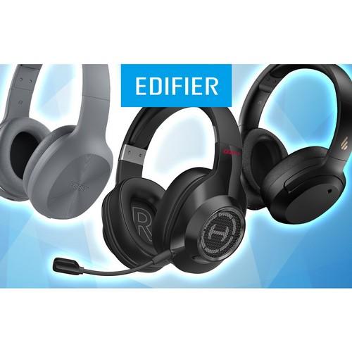 Новый звук от Edifier: три модели наушников от легендарного бренда