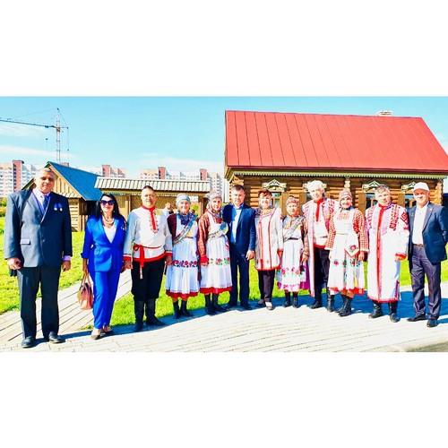 Чувашская делегация приняла участие в открытии Парка дружбы Самары