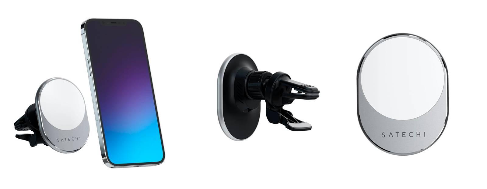 Беспроводная зарядка для автомобиля Satechi Magnetic Wireless Car Charger