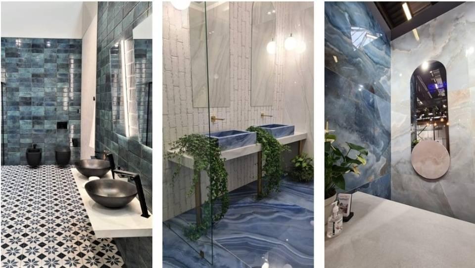 Тренды в отделке ванных комнат на выставке Cersaie 2021 в Италии