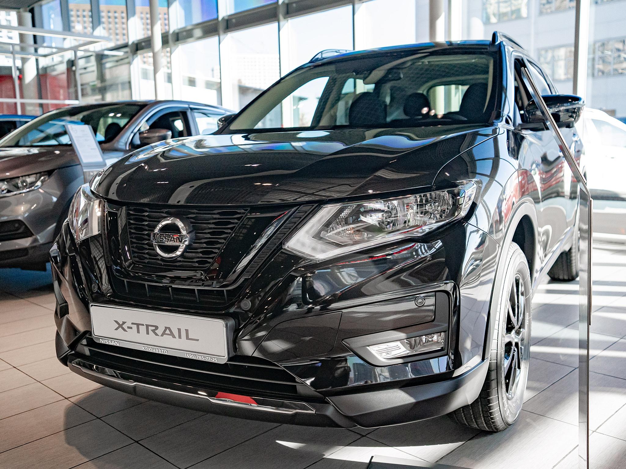 Nissan X-Trail в новом исполнении N-Design уже в Ключавто