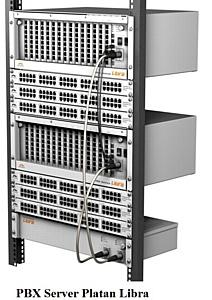 Первые  Platan PBX Server Libra в России