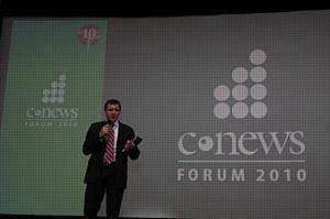 AUVIX принял участие в ключевом мероприятии года в сфере ИКТ России - юбилейном CNews FORUM 2010