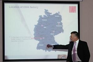 Семинар «ТП-Урал» и немецкой компании OWA, производителя потолочных покрытий