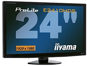 Компания iiyama представляет новый Full HD монитор ProLite E2410HDS-1