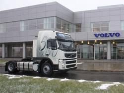 Грузовой автомобиль Volvo под номером 5000 произведен на заводе компании в Калуге
