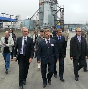 Губернатор Сергей Морозов ознакомился с ходом реализации инвестиционного проекта в промышленной зоне «Новоульяновск»