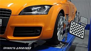 Российский 3D стенд для измерения и регулировки углов установки колес автомобиля уже в продаже
