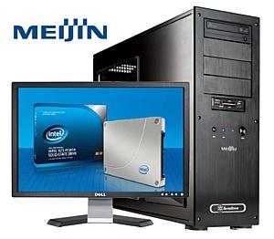Компьютер Meijin на SSD – еще быстрее, еще мощнее