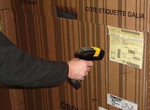 Благодаря новой штрихкодовой системе отслеживания доставка контейнеров осуществляется всегда во время