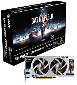 Palit представляет игровую видеокарту для поклонников Battlefield 3