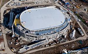 Материалы ТехноНИКОЛЬ: Монтаж кровли Малой ледовой арены в Сочи