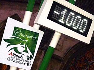 1000 дней до начала торжеств – представлены новый бренд и концепция  Всемирных конных игр Alltech® 2014 в Нормандии