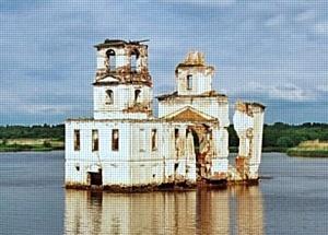 Восстановление церкви Рождества Христова в Крохино»