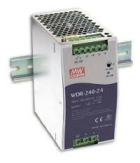АВИТОН: Источники питания серии WDR-240 для монтажа на DIN-рейку с повышенным входным напряжением от Mean Well