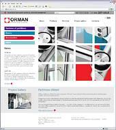 Опубликована английская версия сайта производителя офисных перегородок «Орман»