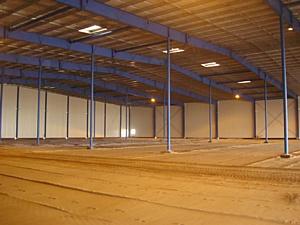 В декабре 2010 года завершено строительство нового складского комплекса, спроектированного Компанией ГЕОДИЗАЙН для петербургской промышленного группы Ладога