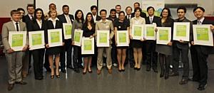 Многообещающая молодая ученая из России получила награду на конкурсе «Green Talents 2011» в Берлине