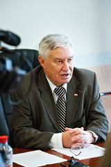 Пресс-конференция председателя НГСП РФ Л.А.Миронова