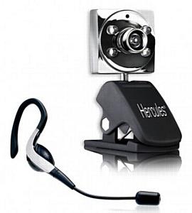 В MERLION поступила новинка - веб-камера Hercules