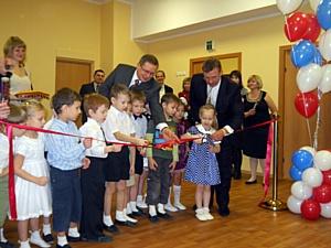 Торжественно открыт первый детский сад, построенный в Выборгском районе за последние 25 лет