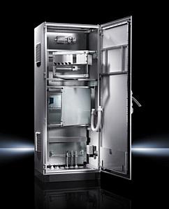 Компания Rittal разработала отдельный распределительный шкаф, совместимый с линейными серии TS 8