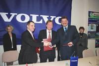 Volvo стала генеральным спонсором развития детско-юношеского хоккея в Калужской области