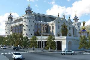 """""""Торговая площадь"""" - Великолепный восточный дворец в стиле сказок Тысячи и Одной ночи"""