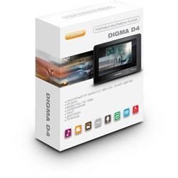 Новинка! Мультимедийный FULL HD плеер Digma D4: смотри, слушай, читай!