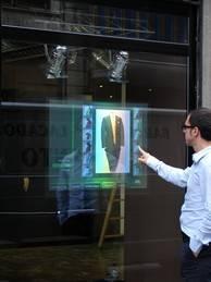 Голографические экраны - не роскошь, а средство продвижения