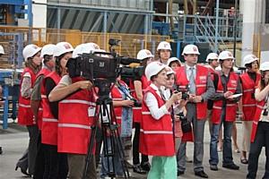 Пресс-тур на завод «ТЕХНО» Корпорации ТехноНИКОЛЬ, г. Черкассы