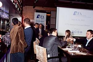 Профессиональные участники финансового рынка, приглашенные Ассоциацией CFA России, дали позитивный прогноз развития рынка капитала в России в 2011 году