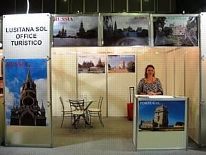 Португальский туроператор Лузитана Сол: туристическая выставка за океаном