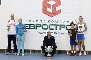 Группа компаний «Еврострой» выступила спонсором теннисного турнира  на призы Евгении Манюковой и Андрея Ольховского.