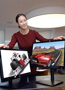 LG расширяет модельный ряд  3D-мониторов без очков