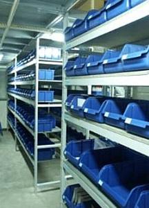 Складские металлические стеллажи, выбор складского оборудования