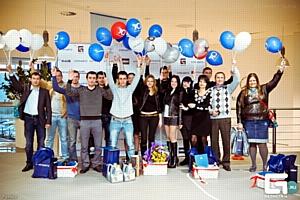 Компании «КЛЮЧАВТО» и «Кубань-Вино» наградили победителей игры десятилетия