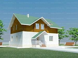 В течение трех недель можно заказать строительство коттеджа с экономией от 90 т. рублей.  в  «Монтос Дом»