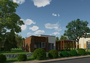 Начались работы по внешней и внутренней отделке домов в Пригороде «Западная Долина»