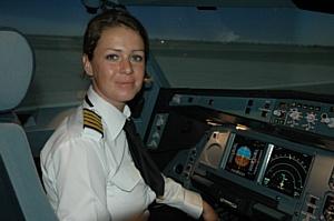 Первая женщина-капитан в авиакомпании Etihad Airways