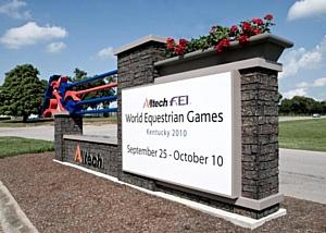 Всемирные Конные Игры Alltech FEI 2010