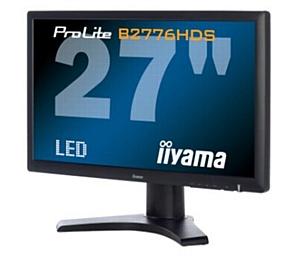 Монитор iiyama ProLite B2776HDS со сверхбыстрым временем отклика