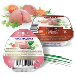 Новые паштеты «Главпродукт» в ламистерной упаковке