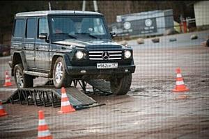 «Аркан» - официальный партнер тест-драйва полноприводных внедорожников Mercedes-Benz