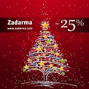 Новогодние сюрпризы от Zadarma: 25% в подарок для звонков за границу