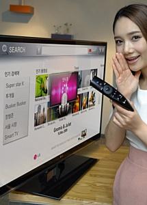 Новый пульт дистанционного управления LG Magic Remote с инновационными функциями для более комфортного использования телевизоров LG CINEMA 3D Smart TV