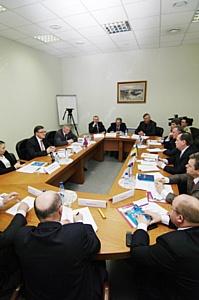 Встреча руководства Московской ТПП с делегацией Луганской области (Украина)
